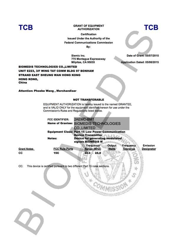 certificate_FCC_biomedis_m