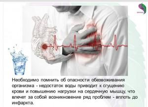 обезвоженность и сердце