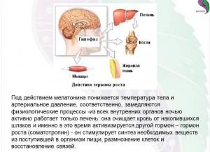 эффекты мелатонина