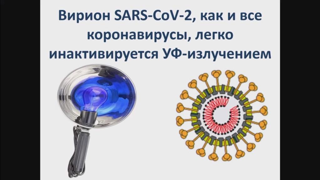 коронавирус и УФ излучение