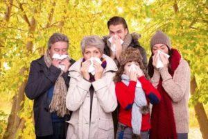 обострения и простуда