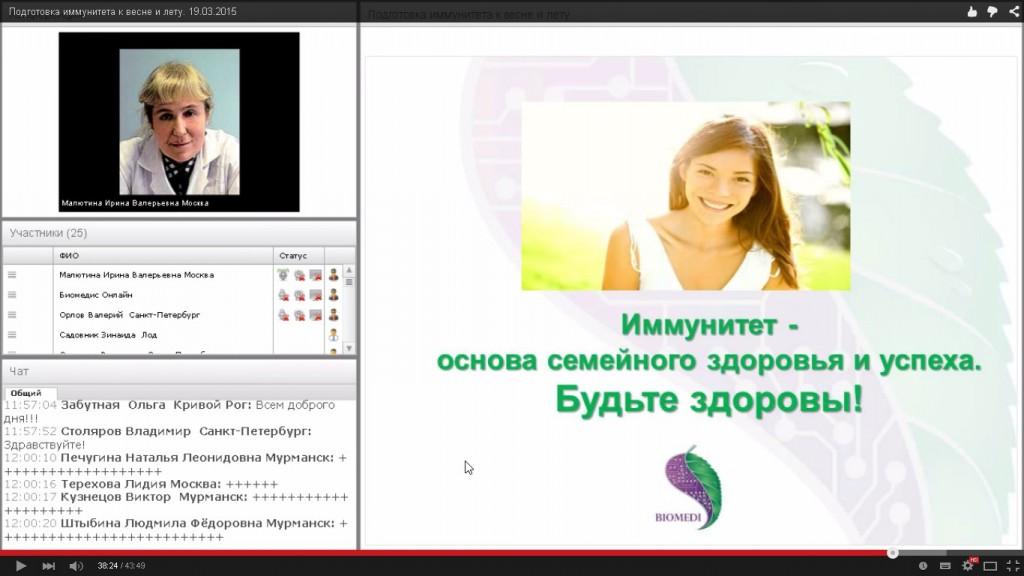 Подготовка иммунитета к весне и лету. 19.03.2015 -2