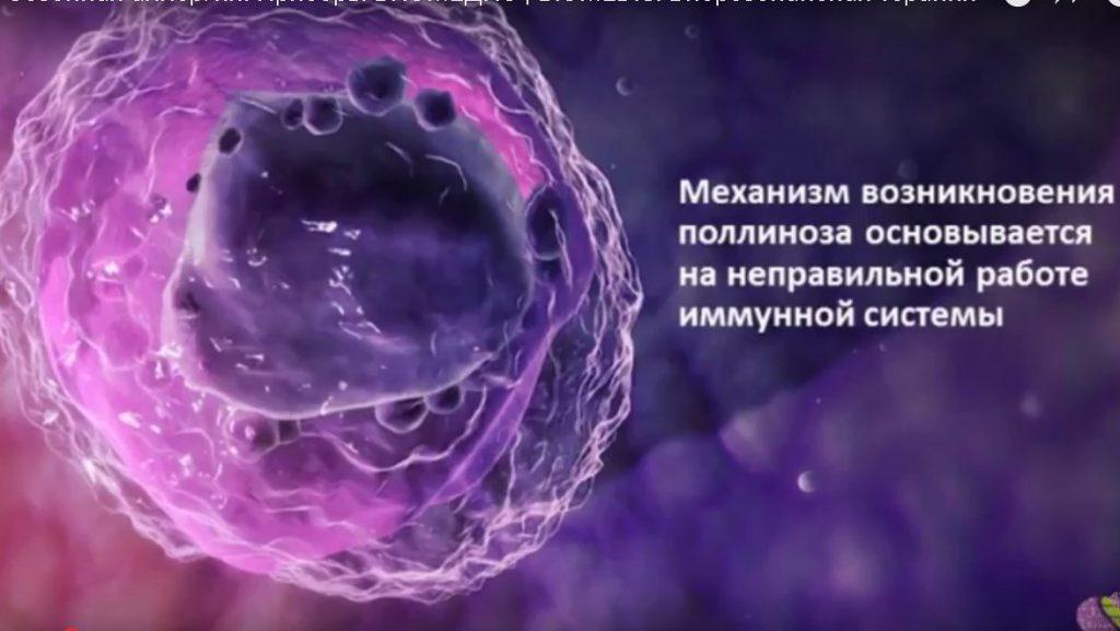 поллиноз,как помочь приборами Биомедис